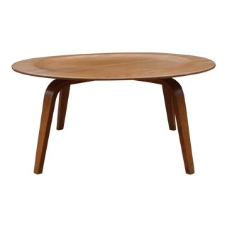 1940s Eames Molded Plywood Coffee Table For Sale
