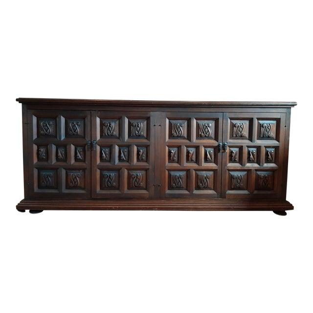 Vintage Artes De Mexico Sideboard For Sale
