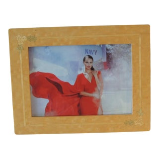 Inlaid Wood Picture Frame For Sale
