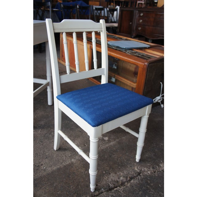 Dixie Dixie Mid Century Modern Campaign Desk & Chair For Sale - Image 4 of 13