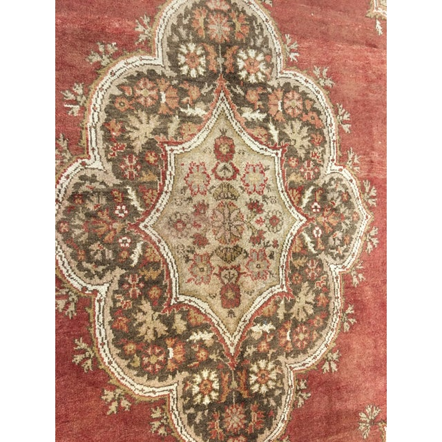 "Vintage Sivas Turkish Rug - 5'4""x14'5"" - Image 4 of 8"