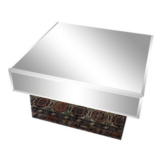 Bronze Mirror Coffee Table