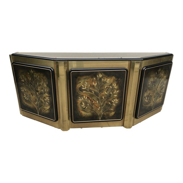 """Mastercraft """"Tree of Life"""" Cabinet by Bernhard Rohne For Sale"""