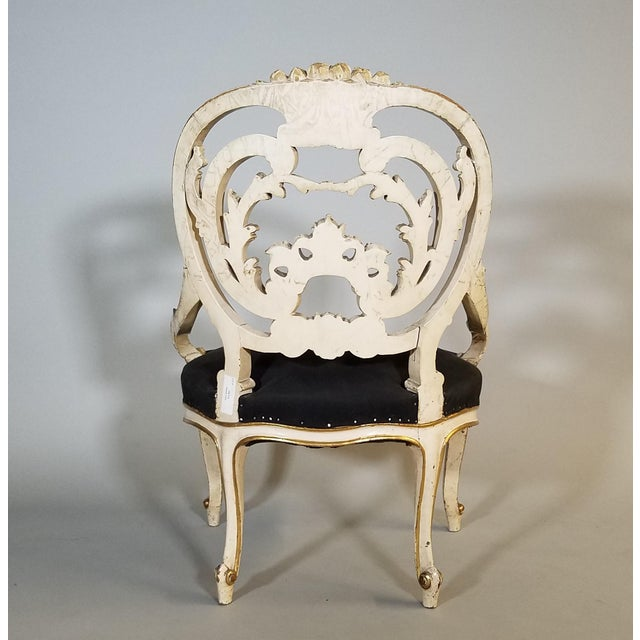 Late 19th Century Pair of Late 19th Century Louis XIV Style Signed Maison Jansen Arm Chairs For Sale - Image 5 of 12