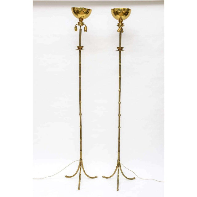 Maison Baguès Floor Lamps - A Pair - Image 2 of 10