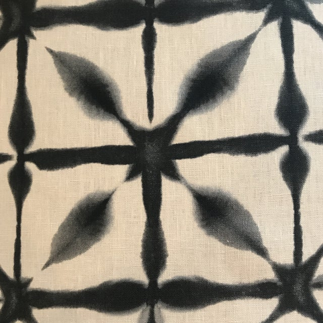 Black Schumacher Andromeda Fabric - 5 Yards For Sale - Image 8 of 8