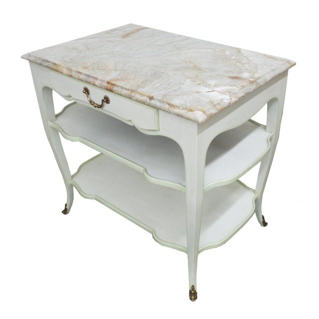 Louis XV Astor Side Table For Sale - Image 3 of 7