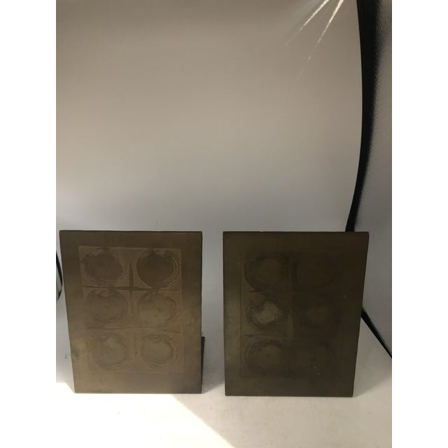 German Modernist Copper Bookends - a Pair For Sale In Miami - Image 6 of 10