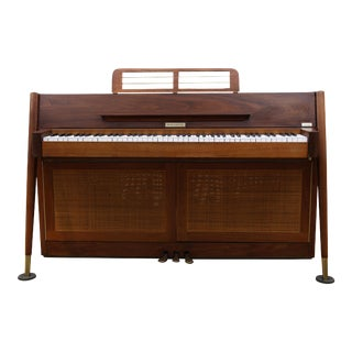 Baldwin Acrosonic Mid-Century Modern Piano Wine Bar