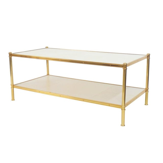 Modern Rose Gold Cole Porter Coffee Table For Sale - Image 3 of 6