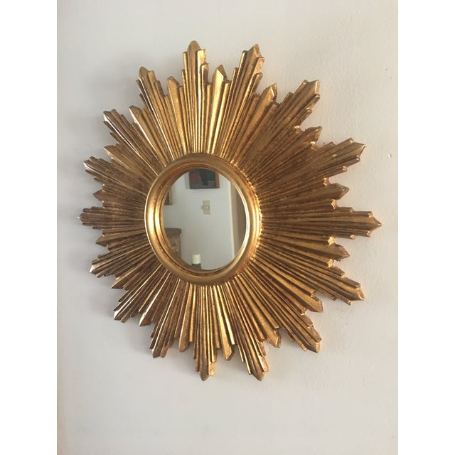 Italian Gilt Sunburst Mirror - Image 4 of 8
