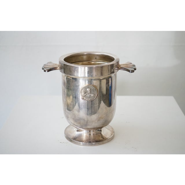 This is a circa 1940s, french ice bucket.