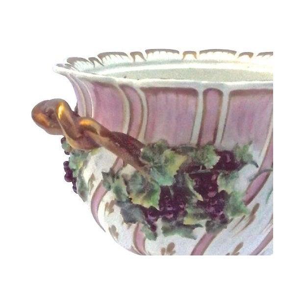 Antique Porcelain Potpourri Compote - Image 4 of 4