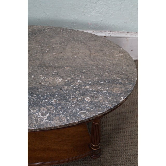 Heritage French Empire Style Coffee Table For Sale In Philadelphia - Image 6 of 10