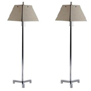 "Charles Hollis Jones ""Elrod"" Floor Lamps For Sale"