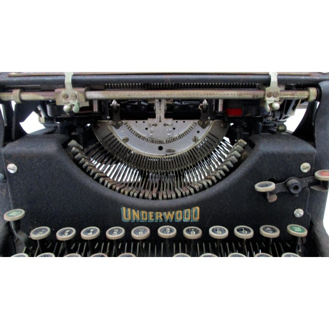 Antique Underwood Typewriter - Image 8 of 11