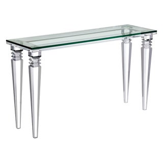 Interlude Home Savannah Console Table For Sale