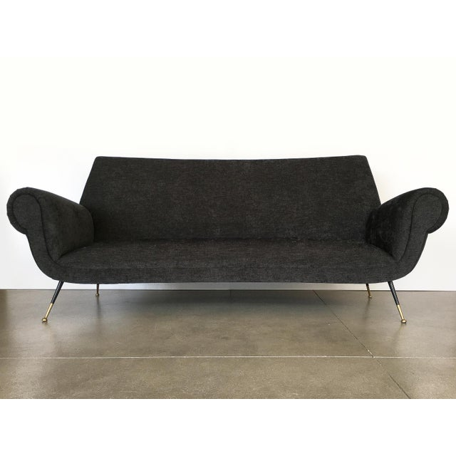 Italian Italian Midcentury Sofa by Gigi Radice for Minotti For Sale - Image 3 of 13