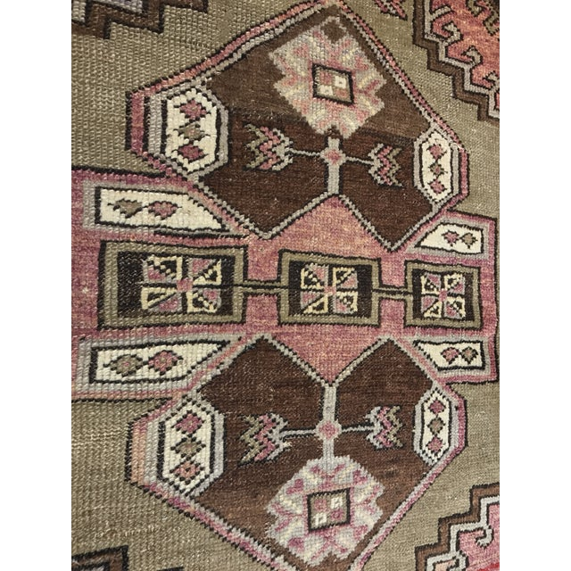 """Bellwether Rugs Distressed Look Vintage Turkish Oushak - 2'11""""x4'7"""" - Image 4 of 11"""
