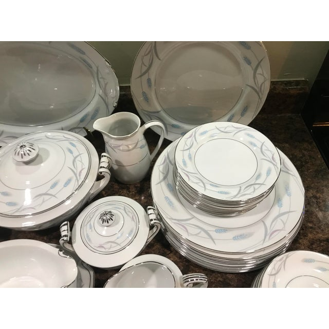 China Royal Wheat Dinnerware - 48 Pieces For Sale - Image 4 of 9