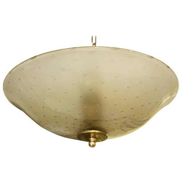 Bollicine Pendant / Flush Mount by Barovier E Toso For Sale In Palm Springs - Image 6 of 6