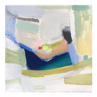 Abstract Original Acrylic & Pastel Painting