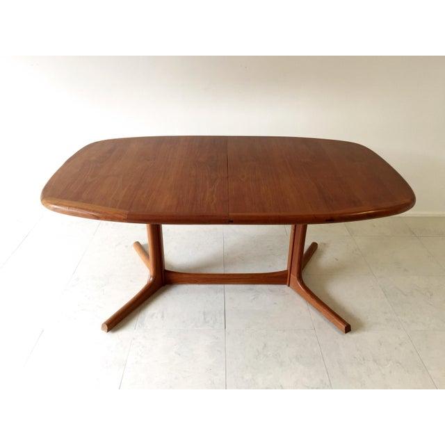 Vintage Danish Dyrlund Teak Dining Table Chairish