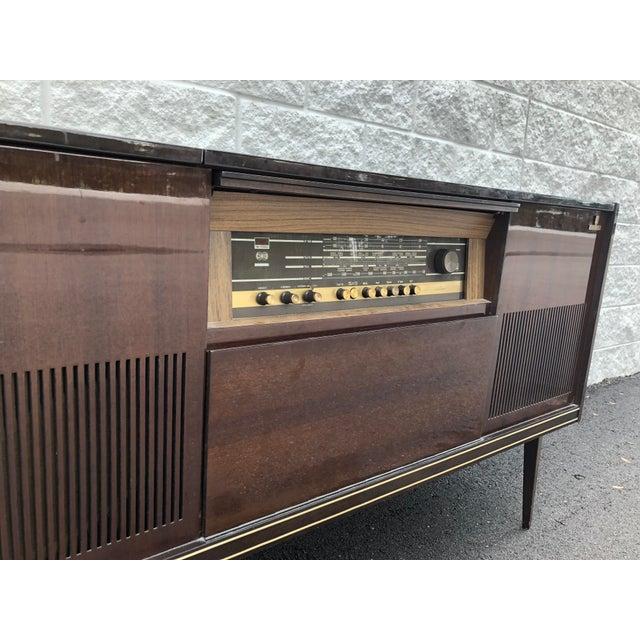 Mid-Century Modern Mid Century Fully Restored Ks650u Grundig Record Credenza For Sale - Image 3 of 13