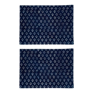 Jamini Placemats Indigo - A Pair For Sale