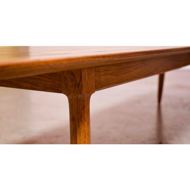 Wood 1950s Art Deco Tomlinson Burlwood & Oak Coffee Table For Sale - Image 7 of 12