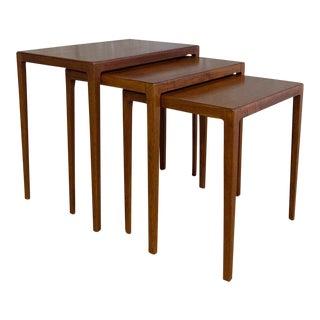 Ludvig Pontoppidan Nesting Tables - Set of 3 For Sale