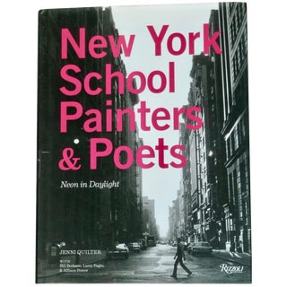 New York School Painters and Poets Book For Sale