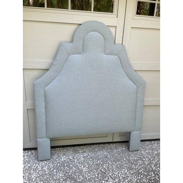 2020s Full/Double Custom Upholstered Headboard For Sale - Image 5 of 5