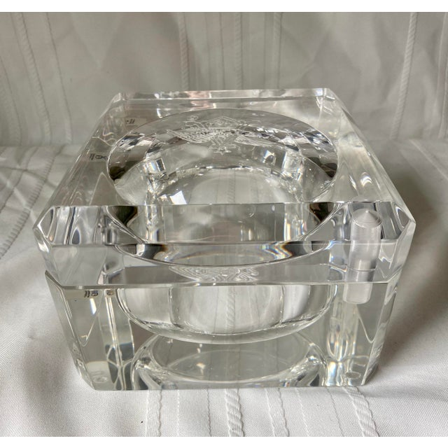 1960s Vintage Peter Alan Designs Anheuser Busch Lucite Candy Dish For Sale - Image 4 of 11