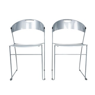 Pair of Baleri Italia Juliette Stacking Chairs For Sale