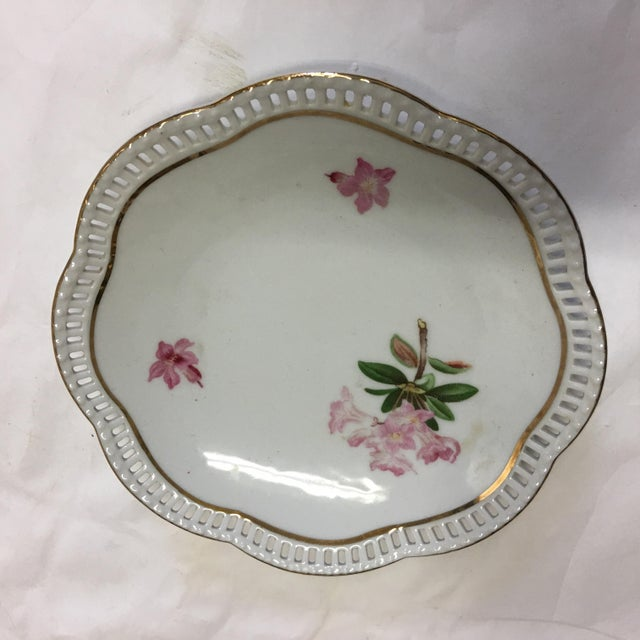 Bavaria Schumann Porcelain Floral Plates - Set of 3 For Sale In New York - Image 6 of 9