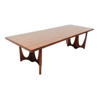 Mid-Century Broyhill Brasilia Walnut Coffee Table For Sale