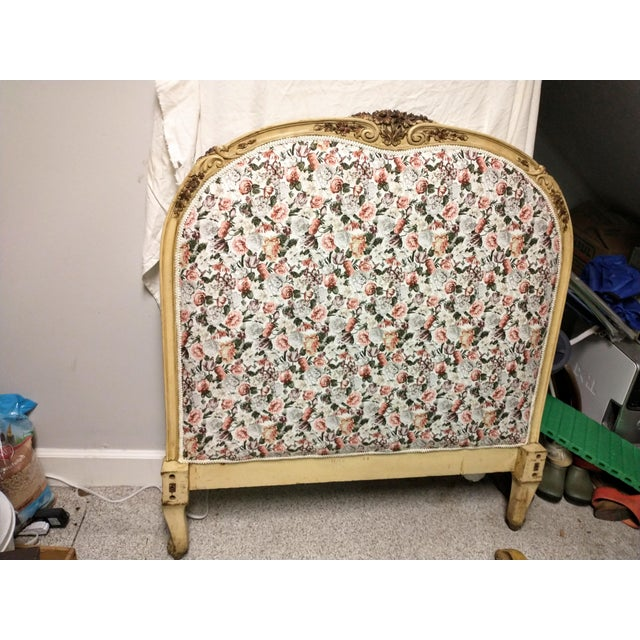 19th Century Antique Twin Headboard and Footboard For Sale - Image 12 of 13