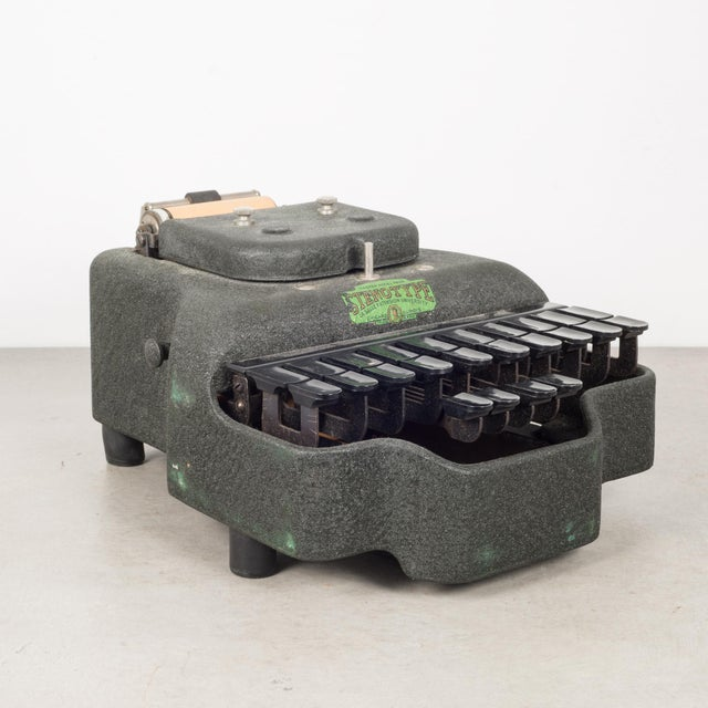 Antique Stenograph With Original Case/Manual C.1933 For Sale - Image 10 of 10