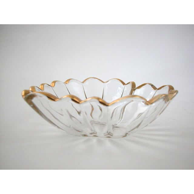Glass and Gold Heart Dish - Image 7 of 9