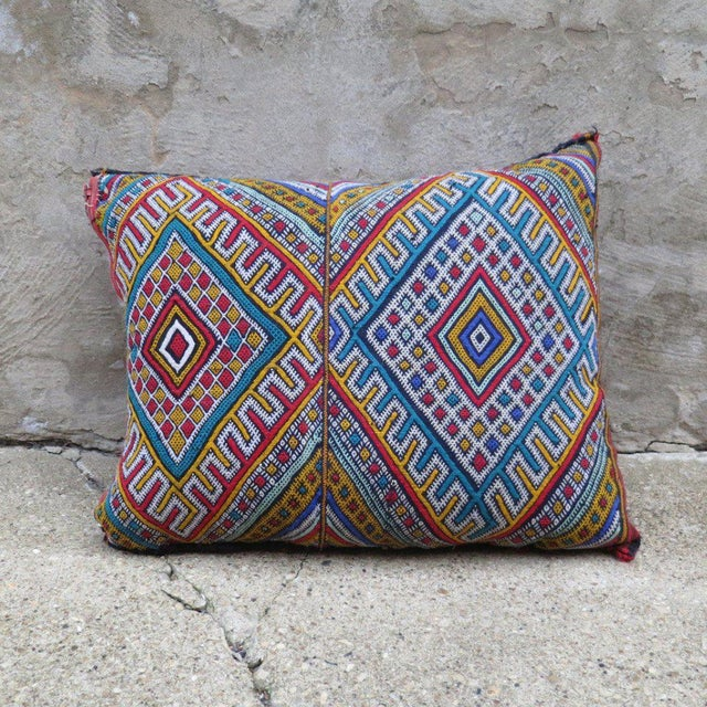 Traditionally featuring geometric patters. Pillows come STUFFED!