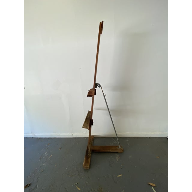 Rustic 1960s Artist Easel For Sale - Image 3 of 11