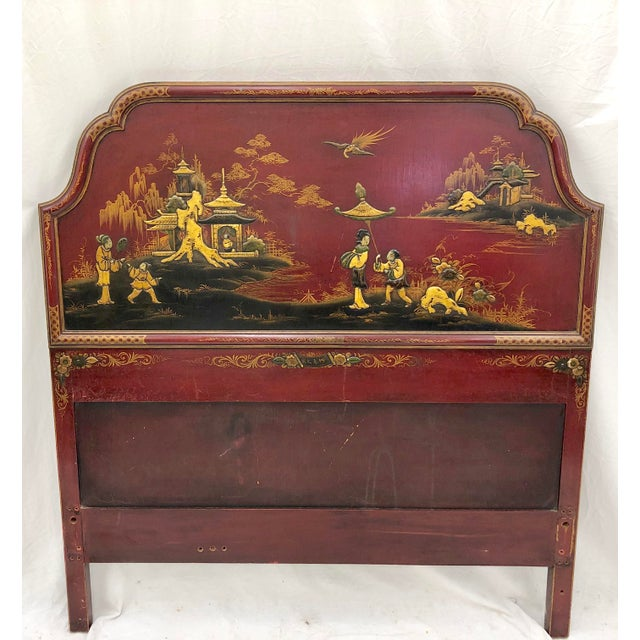Antique Chinoiserie Bed For Sale - Image 4 of 13