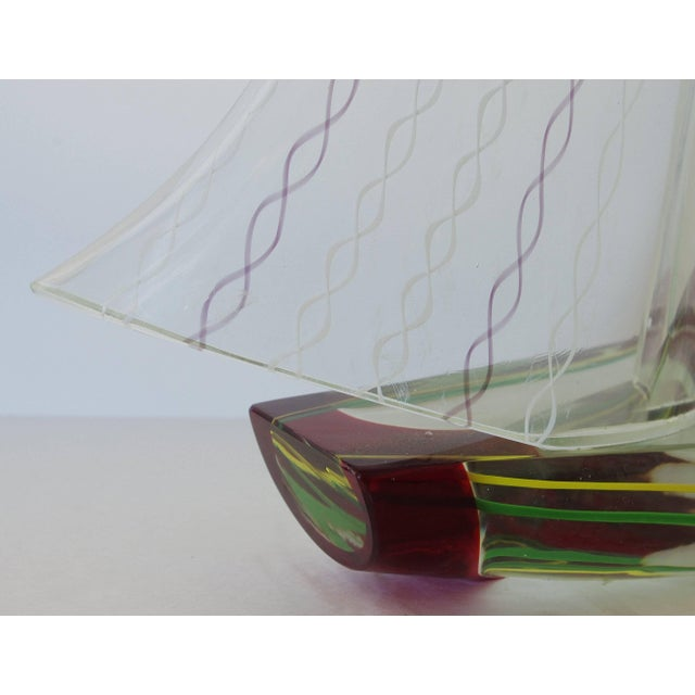 1980s Sailboat Sculpture by Alberto Dona' For Sale - Image 5 of 10