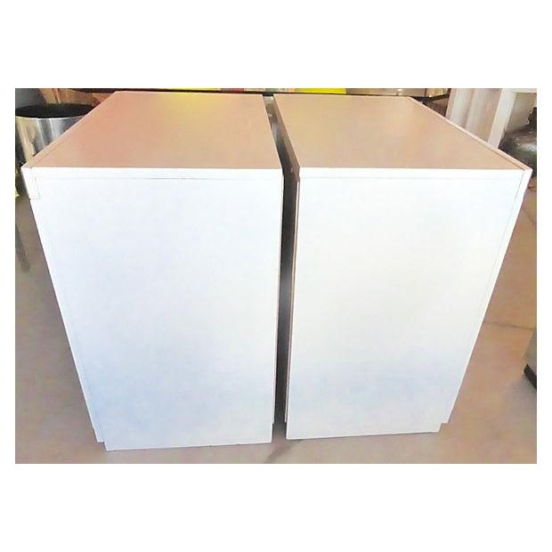 Gray & White Nightstand Chests - A Pair - Image 7 of 8