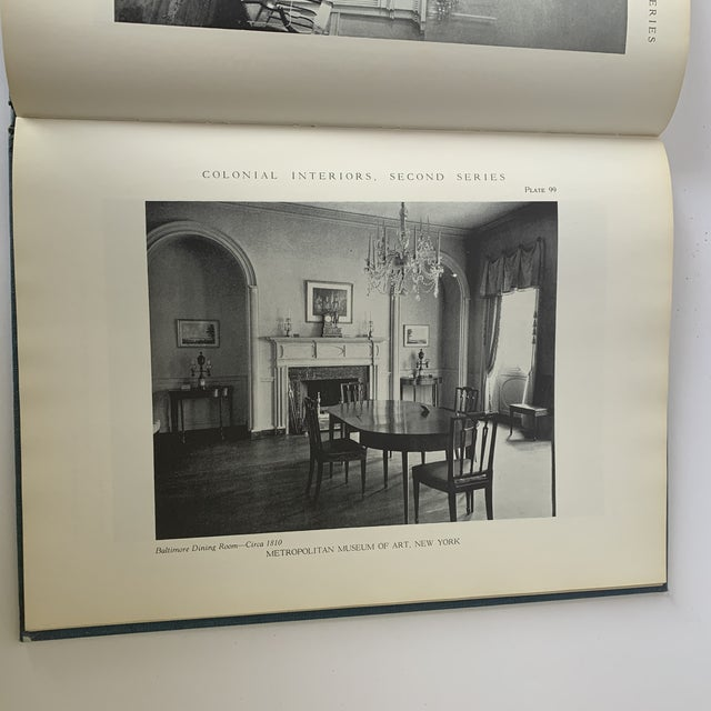 Paper Colonial Interiors Hardcover Book For Sale - Image 7 of 13