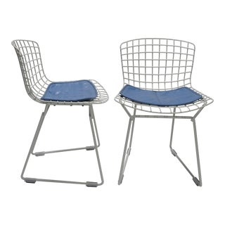1960s Vintage Bertoia Children's Chairs- A Pair For Sale