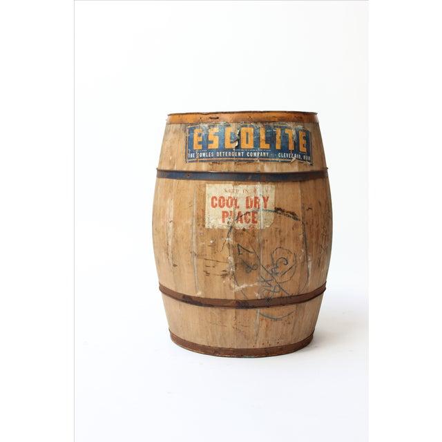 Antique Laundry Detergent Barrel - Image 2 of 9