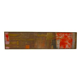 Abstract Painting by Gyorgy Kepes For Sale