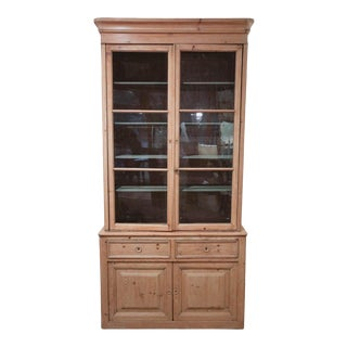 French Buffet a Deux Corps, Bibliotheque For Sale